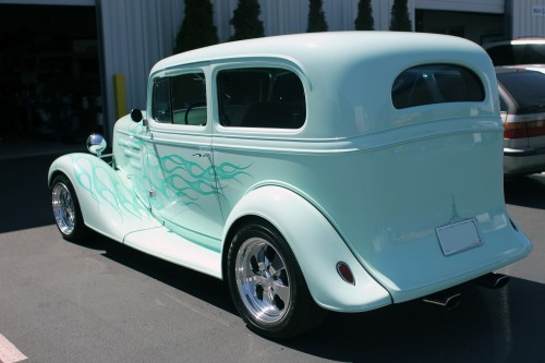1935 Chevrolet Sedan LT1 4-Speed