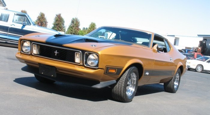 1973 Ford Mustang Mach 1 351 Cleveland 4 speed Hurst