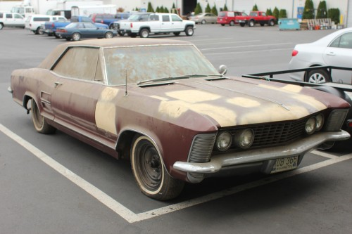 1963 Buick Riviera Before