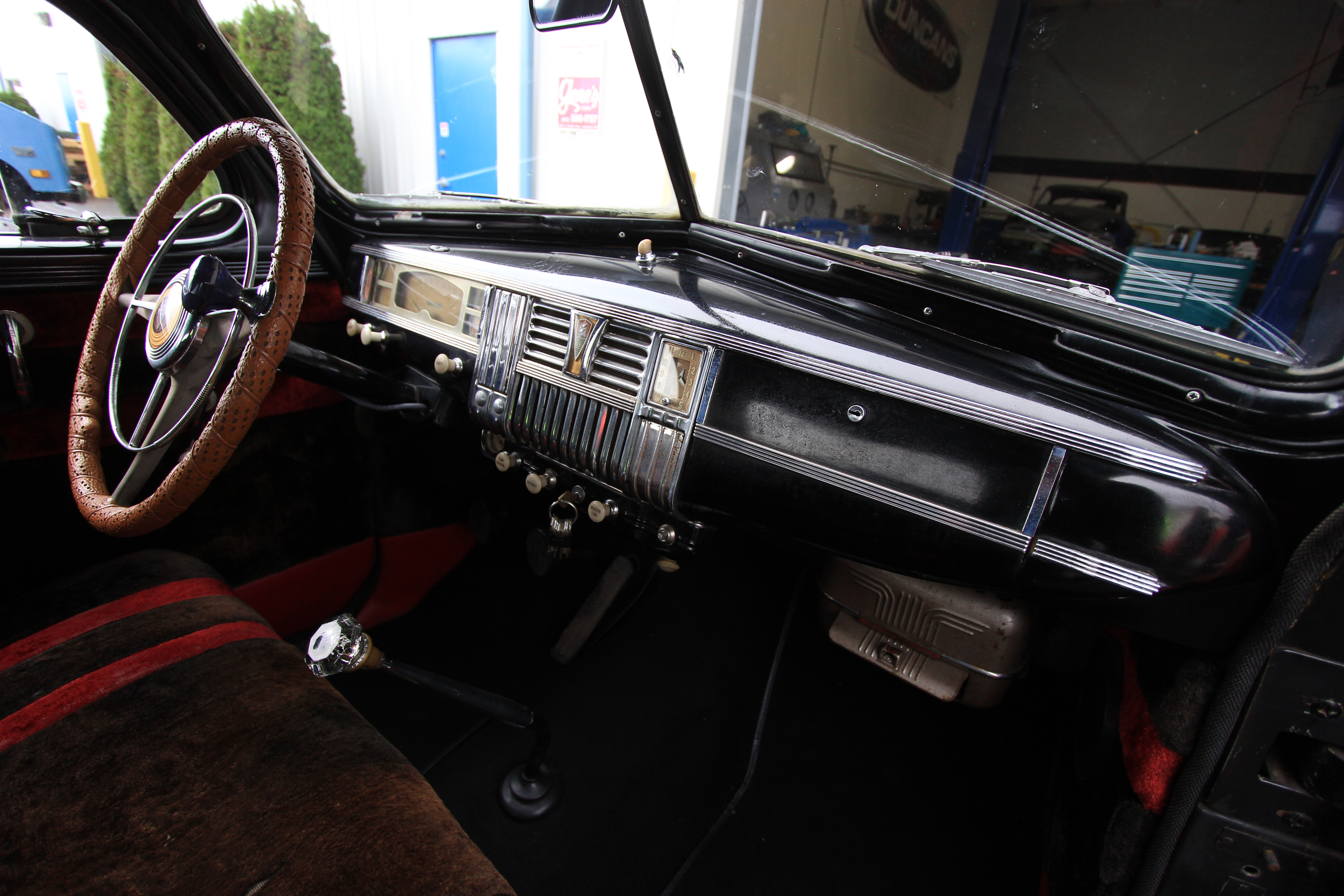 5 speed conversion works with stock bench seat