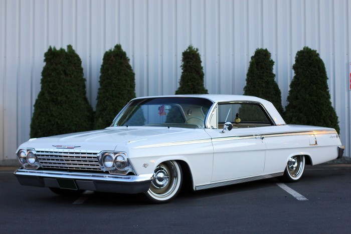 1962 Chevrolet Impala- Disc brake and air ride upgrades