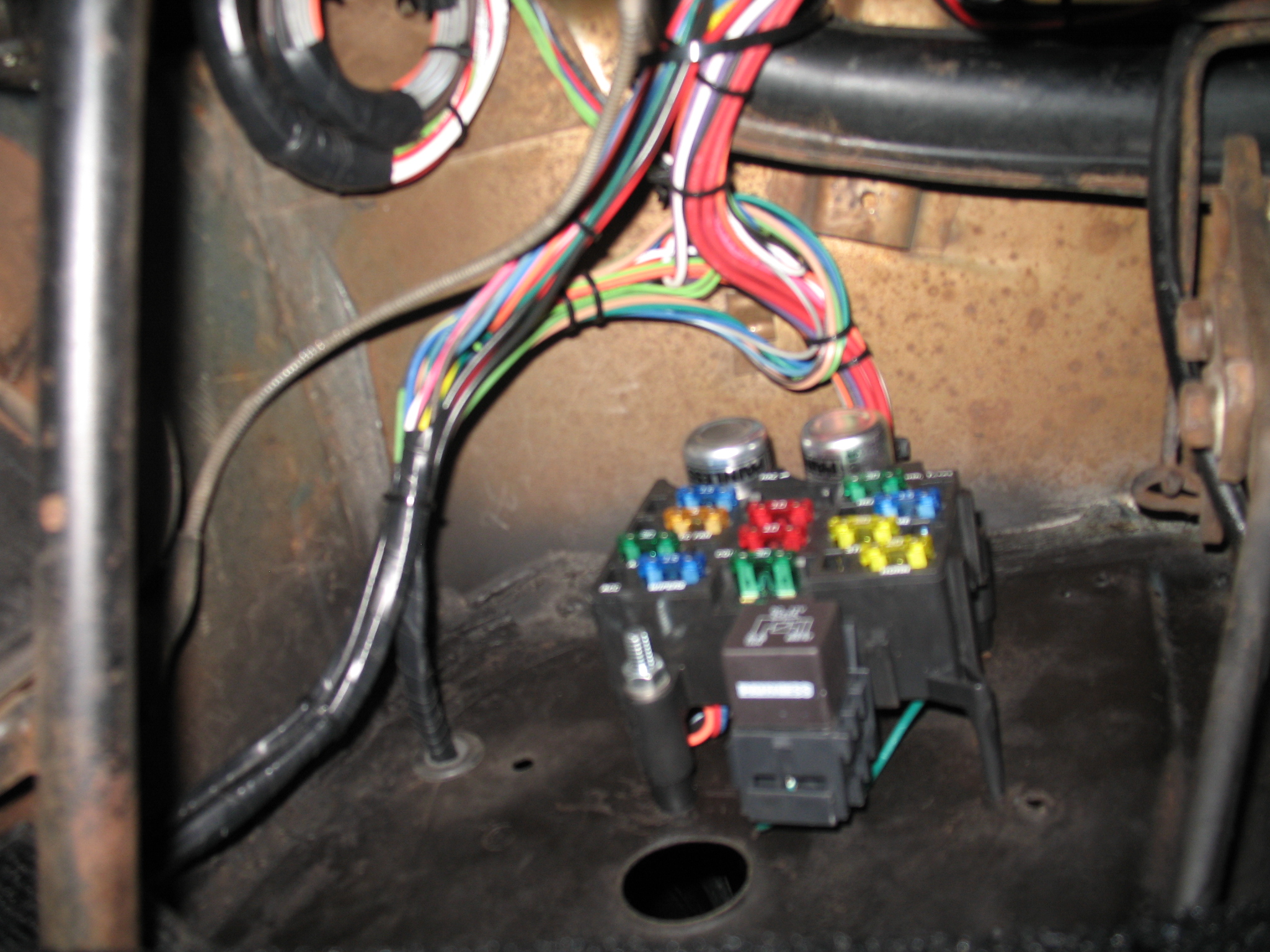 Street Rod Wiring Harness 25 Diagram Images Hot Img 4301 605 Blown Cubes 1955 Chevrolet Duncans Speed Custom At Cita